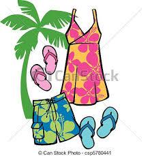 Summer Dresses Clipart 34