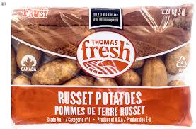 5 Lbs Bag Russet Potatoes