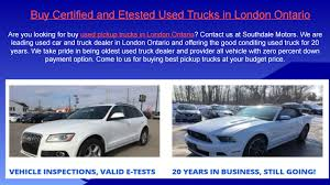 Used Truck For Sale In London Ontario By Southdale Motors - Issuu