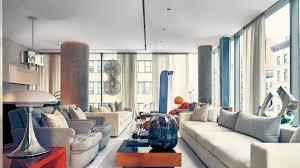 100 Tribeca Luxury Apartments Inside AD100 Architect Lee Mindels StatementMaking