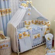 baby luxus kinderbetten 120x60 holz gitterbett babybett kinderbettset blau komplett set inklusive
