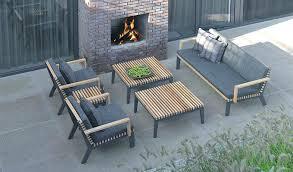 canap salon de jardin canape jardin bois stunning petit salon de jardin en teck images