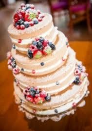 14 Best Bare Wedding Cakes Images On Pinterest