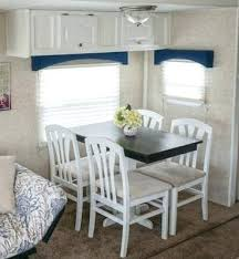 Rv Kitchen Table Fifth Wheel Camper And Chairs Dinette For Sale