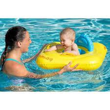 bouée siège bébé bouée siège bébé jaune avec hublot avec poignées nabaiji
