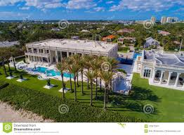 100 Million Dollar Beach Multi Mansions On The Editorial Photography