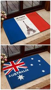 großhandel eingang fußmatte national usa flagge memory foam badezimmer teppiche und teppiche australien kanada flagge fußmatten rutschfeste