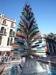 Worlds Largest Glass Christmas Tree Murano In Venice