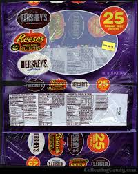 Halloween Candy Calories List by Hershey U0027s Humorous Halloween Tombstone Wrappers And More Hershey