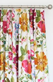 Jacobean Floral Curtain Fabric by Searching For A Fabulous Floral Fabric