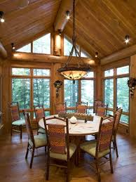 Log Cabin Kitchen Lighting Ideas by Best 25 Log House Kitchen Ideas On Pinterest Cabin Homes Log