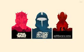 Star Wars Minialist Posters Wallpaper