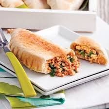 les recettes de la cuisine calzones grillés au tofu et aux épinards recettes cuisine et