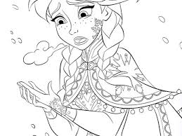 9 Disney Characters Printable Coloring Pages All Frozen
