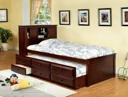 Hokku Designs Montana Twin Captain Bed with Trundle & Reviews