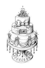 Cake · Pencil sketch