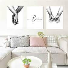 leinwandbild schwarz weiß liebe händchenhalten bilder bild