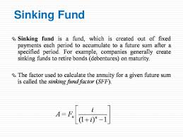 Sinking Fund Factor Calculator by Time Value Concepts