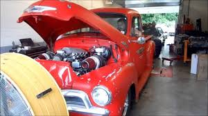 100 Truck Turbo HotRod Dynamics 53L Twin 54 Chevy Shop Truck YouTube