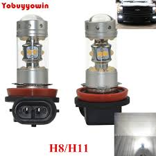 2 pieces cree chips led h11 for honda civic fn2 h11 led fog