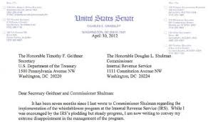 Why is the IRS so slow to pay tax whistleblower rewards Don t