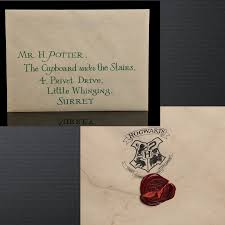 Harrys Hogwarts Letter Up For Auction TheLeakyCauldronorg
