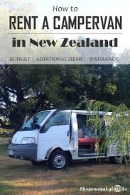 The Ultimate Guide To Renting A Budget Campervan In New Zealand ...
