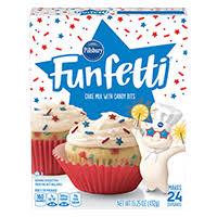 FunfettiR Stars StripesR Cake Mix