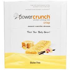 BNRG Power Crunch Protein Energy Bar Crisp Sweet Vanilla Dream 12 Bars