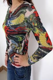 Womens Trendy Tattoo Shirt