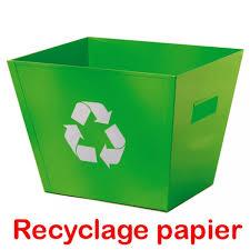 recyclage papier bureau beautiful meuble pour four encastrable 18 corbeille a papier