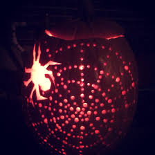 Pumpkin Carving Drill Holes by My Pumpkin Carved With A Drill Creative Process Pinterest
