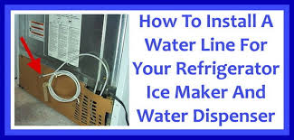 Whirlpool Refrigerator Leaking Water On Floor by How To Install A Water Line To Your Refrigerator Easy Step By