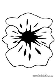 Poppy Petals Coloring Page