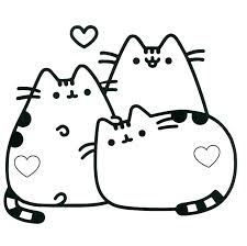 Kawaii Coloring Pages Free Download Best Printable Kitty