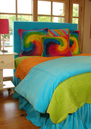Blue Tie Dye Bedding by Bedroom Stupendous Tie Dye Bedroom Bedding Scheme Ideas Bedroom