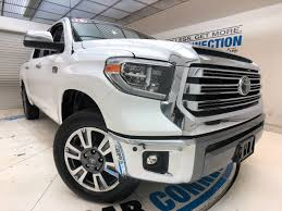 100 Toyota Tundra Trucks 2018 4WD 1794 Edition CrewMax 55 Bed 57L Truck In