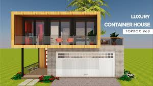 100 Luxury Container House MODBOX 2880 Modern Shipping Homes Plans