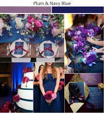 Rustic Plum And Navy Blue Wedding Inspiration