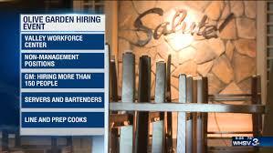 Harrisonburg Olive Garden hosts hiring event