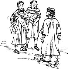 Jesus Heals Noblemans Son Coloring Page