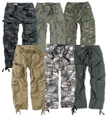 surplus airborne military cargo trousers mens army vintage combat