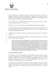 SENTENCIA DEL TRIBUNAL CONSTITUCIONAL En Lima A Los 8 Días Del Mes