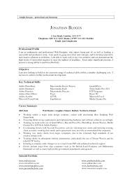 Examples Of Personal Profiles For Resumes Resume Cover Letter Profile