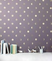tapisserie chambre fille papier peint design et poétique pour une chambre d enfant idées