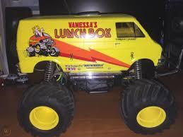 100 Monster Truck Lunch Box Vintage Rc Box Remote Control Tamiya