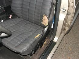 refaire siege voiture réparation complète du siège conducteur