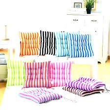Washable Dining Chair Cushions Room Medium Seat With Ties Fashionable Di