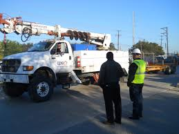 100 Texas Trucks CPS Energy Sends Crews To Help Restore Power In Virginia