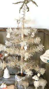 Martha Stewart Rotating Christmas Tree French Mood Vintage Trees Coastal Simple Antique Primitive Country Feather And The Like Pre Lit